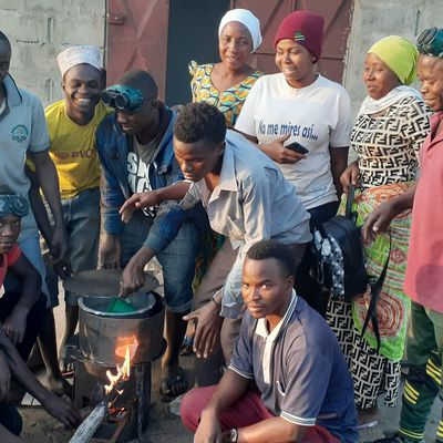 Bagamoyo Youth Pioneer to Influence Transition to Clean Energy Technologies by Fabricating Energy Saving Cooking Stoves.