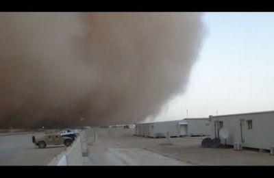 La guerre en Syrie responsable de la multiplication des tempêtes de sable au Moyen-Orient
