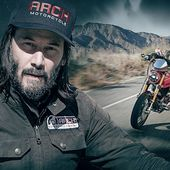 Keanu Reeves Takes Us for a Ride on His Totally Excellent Motorcycle