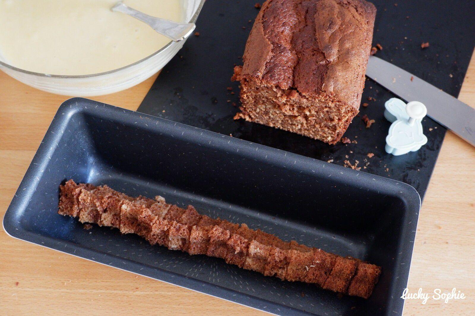 Gâteau caché lapin de Pâques