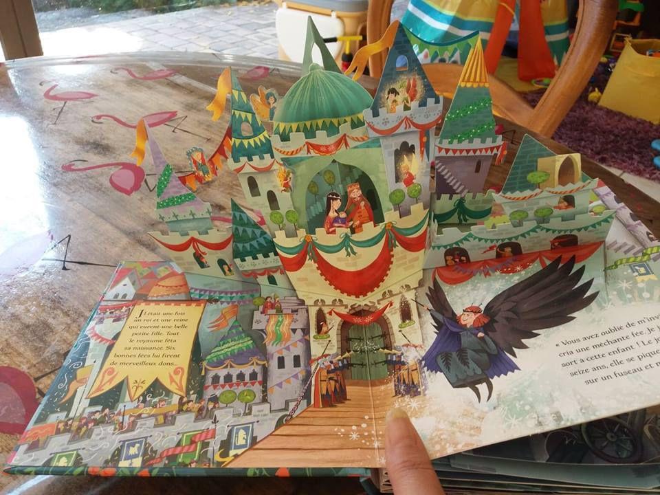 Mon livre pop-up La Belle au bois dormant avec les Editions Usborne !