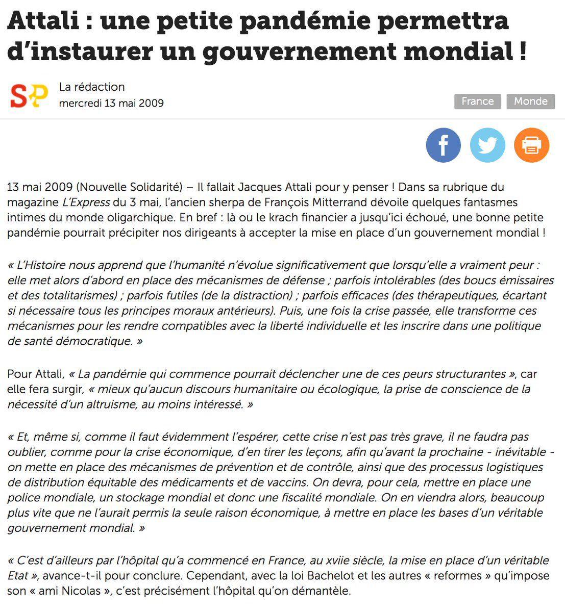 Les raisons économiques de la Plandémie Covid-19 et du génocide actuel - 21/05/2021.