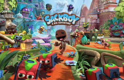 Avis : Sackboy a big adventure PS5