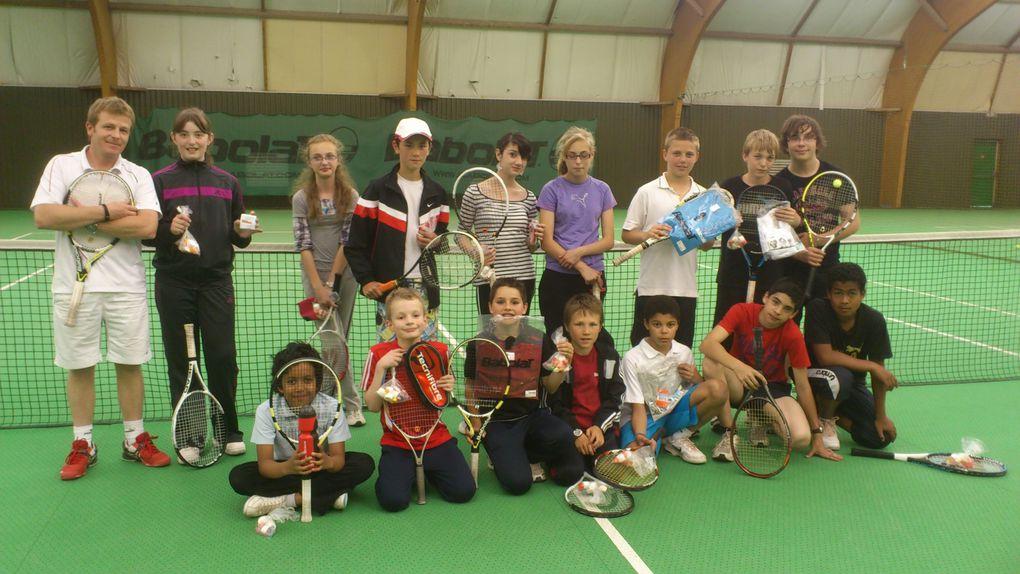 Album - Fete ecole de tennis 2012