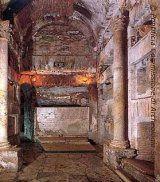 Catacombes de Saint-Calixte: La basilique occidentale abritait probablement les sépultures du Pape Zéphyrin et du martyr Tarcisius