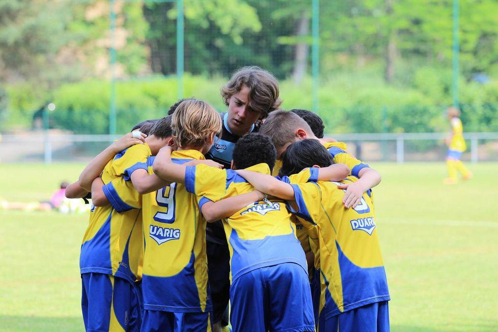 U13 - Finalistes de la Coupe LARGE