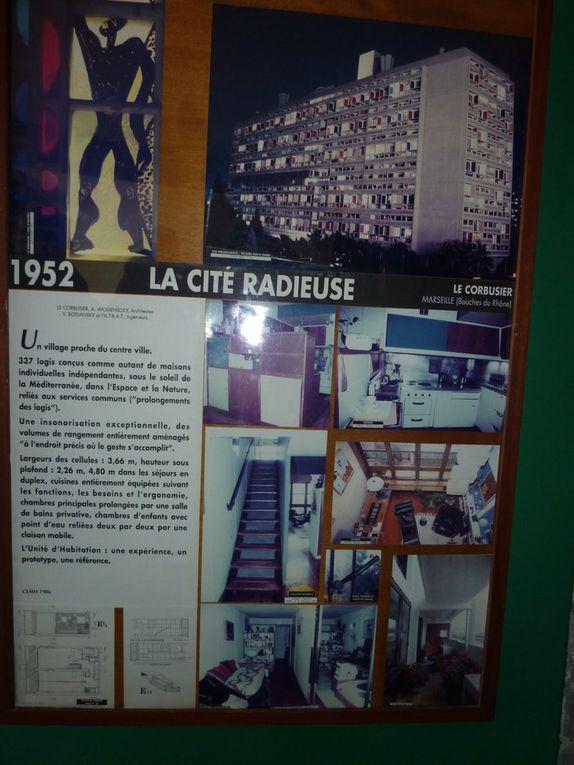 """Visite de la """"Cité radieuse""""...."""