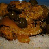 Tajine aux Citrons confits & aux Olives au Cookéo - Graine d'Epices