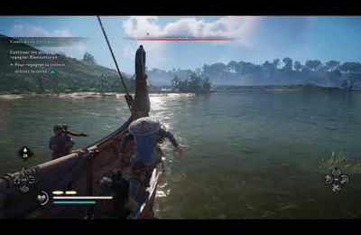 Assassin's Creed® Valhalla - Cours d'eau attaque - Attaques fluviales