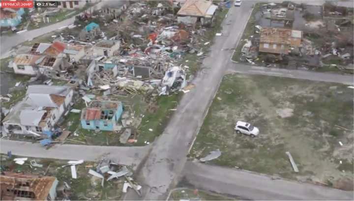 IRMA - Barbuda n'existe plus