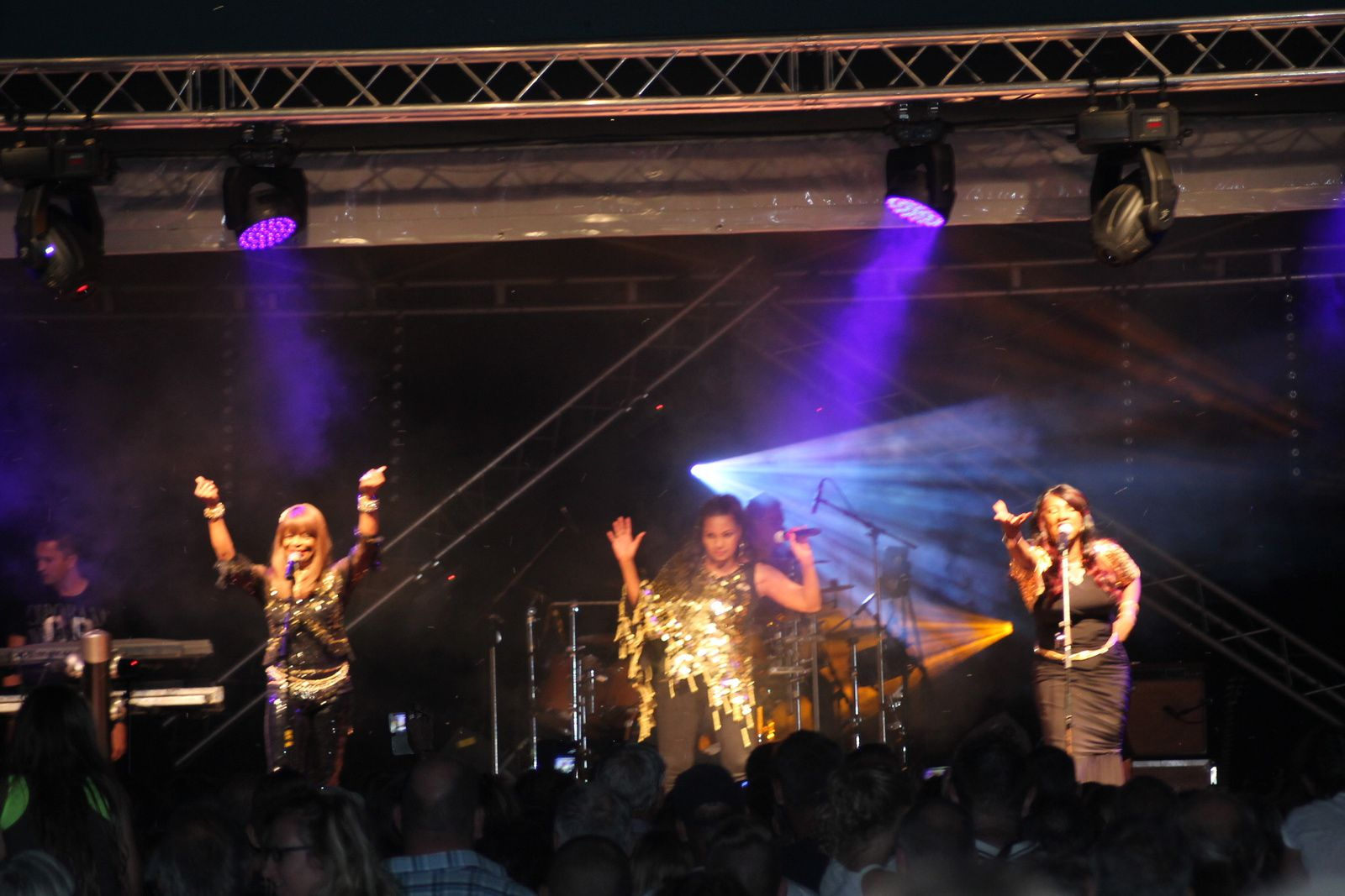 Festiv' Halles 2015 Tribute To Boney M