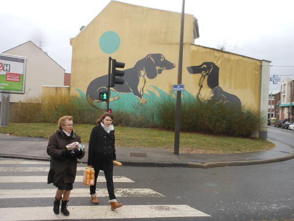 Amiens. Lire la ville. Rue du Faubourg de Hem. 2012. © Jean-Louis Crimon