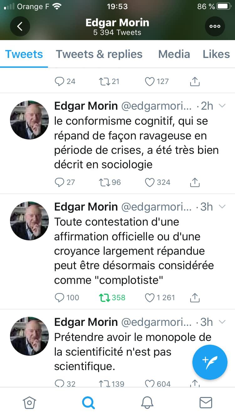 Détournement de Morin et paranoïa collective