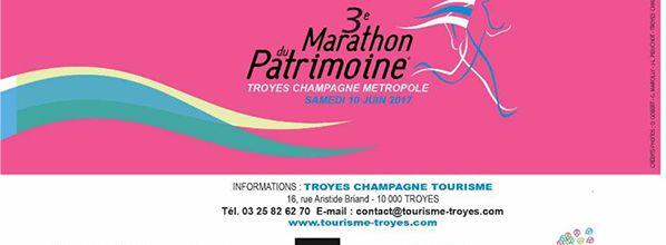 3e Marathon du Patrimoine de Troyes Champagne Métropole