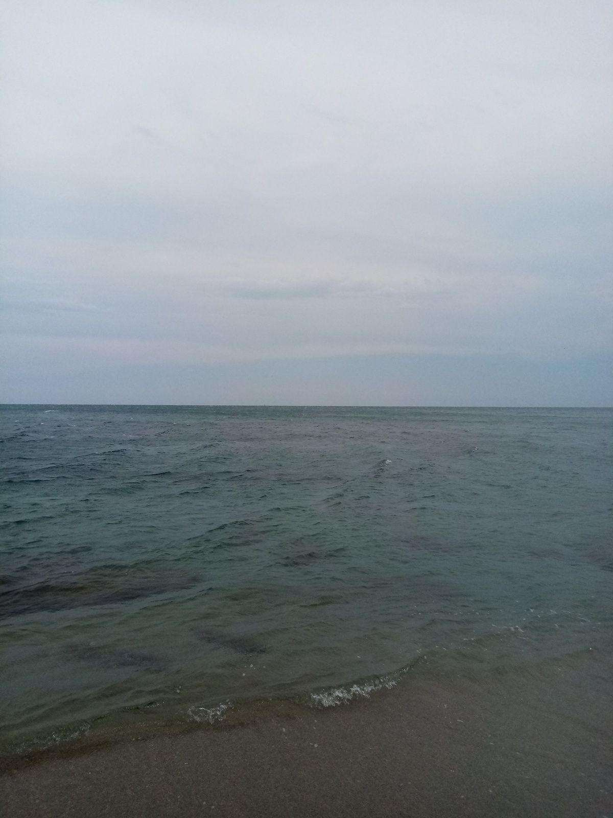Falaise et plagette Leucate plage