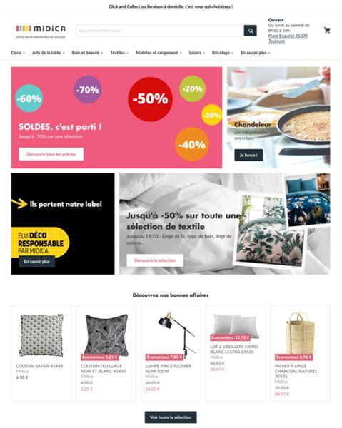 midica vente en ligne