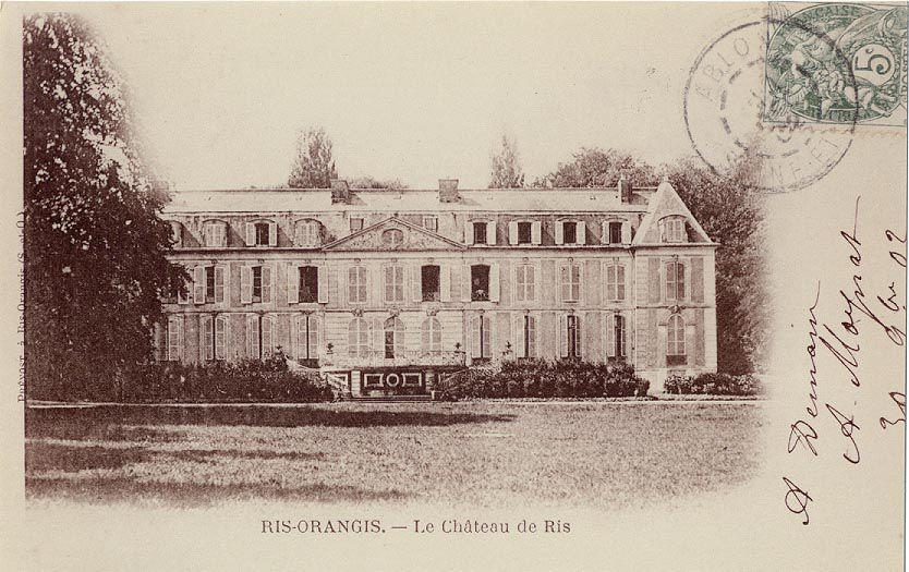 Le château de Ris