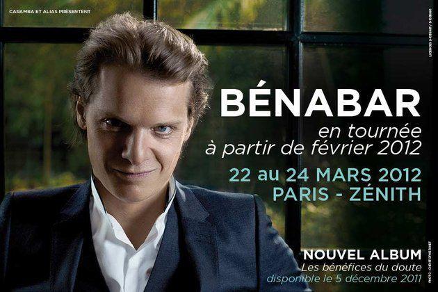 Concert de Bénabar en direct sur Europe 1.