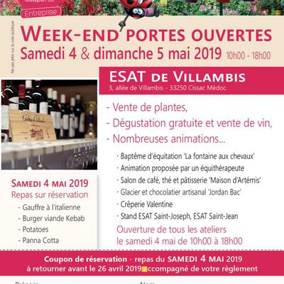 Portes Ouvertes au Château de Villambis les 4 et 5 mai 2019