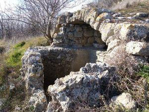 Les nombreuses voûtes de pierre