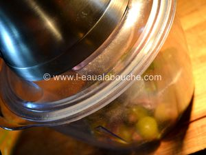 Tapenade d'Olives Vertes aux Amandes