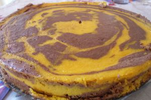 Cheese-cake choco-potimarron