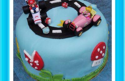 Gâteau Surprise Mario Kart