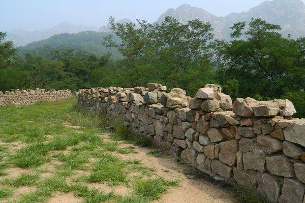 Huangdao 黄岛: La muraille des Qi