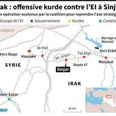 Les Kurdes irakiens lancent une offensive pour reprendre Sinjar