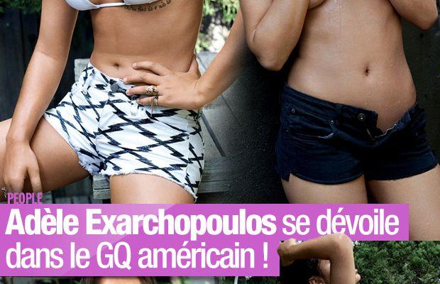 Adèle Exarchopoulos se dévoile dans le GQ américain ! #LaViedAdele