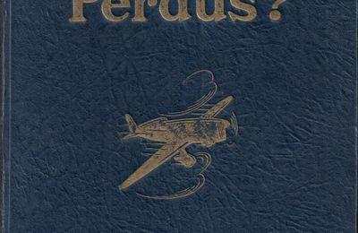 """J.-H. Rosny aîné """"Perdus ?"""" (Flammarion - 1924) [reliure bleue]"""