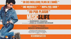 """Music of my life"" , titre français et ""Blinded by the light"" en anglais .... sans commentaire)"