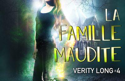 Chronique fantastique - Verity Long tome 4 La famille maudite d'Angie Fox