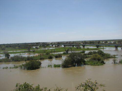 Imágenes río Cunene y desembocadura en el Atlántico, Angola.- El Muni.