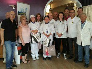 Colmars les Alpes, les honneurs pour Aline Mondello nouvelle  présidente du Syndicat des Artisans Boulangers de la Région Sud Provence Alpes Côte d'Azur