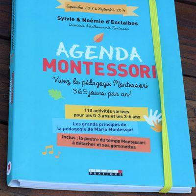 "Agenda Montessori ""Leduc .s édition  """
