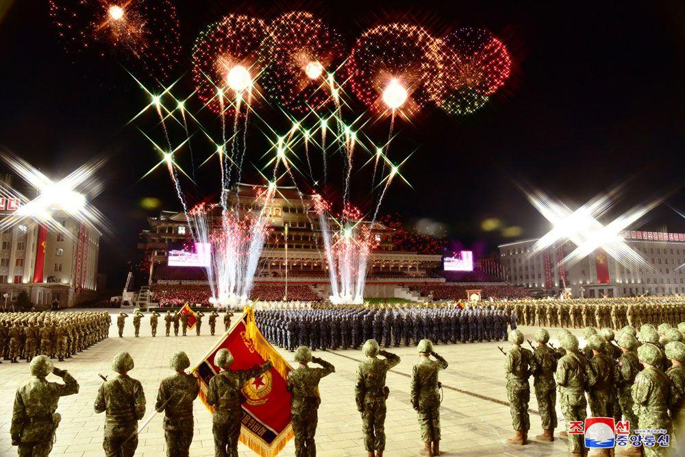 75e annniversaire du Parti du travail de Corée : grande parade militaire à Pyongyang dans un contexte inédit