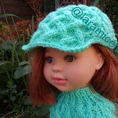 tuto gratuit poupée : casquette irlandaise - Chez Laramicelle