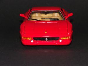 Ferrari F355 Berlinetta, Fujimi 1/24ème.