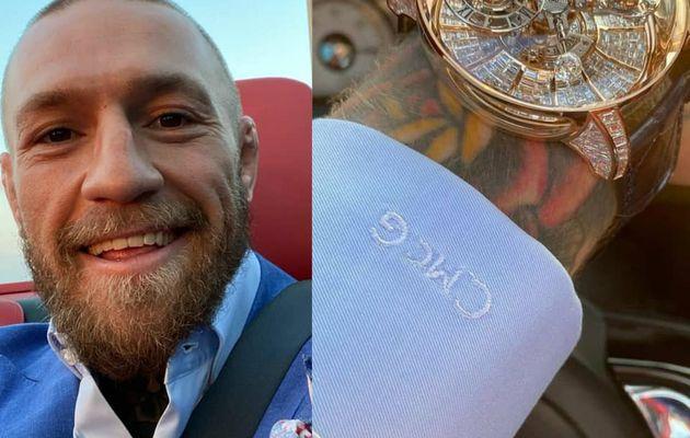 Conor Mcgregor montre sa montre à 1 million de dollars (photos / vidéo)