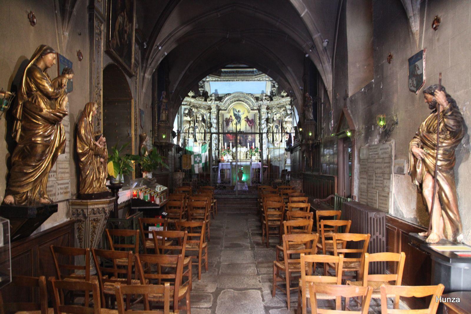 Limoges, intérieur de la chapelle Saint-Aurélien