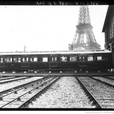 Les automotrices de première et seconde série des chemins de fer de l'Etat.