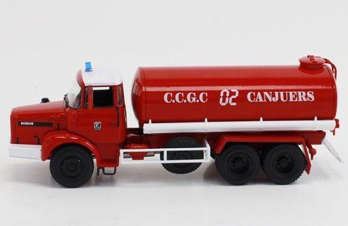 Le Renault GBH 280 CCGC sorti chez Hachette dans la collection Camions&véhicules de sapeurs-pompiers