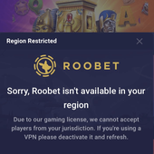 Roobet Blocked Regions-What you need to know