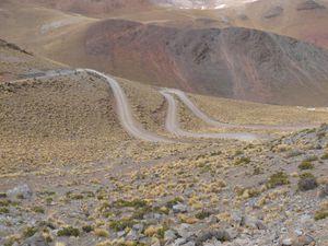 La montée au col le plus haut d'Argentine à 4985 et le second bivouac