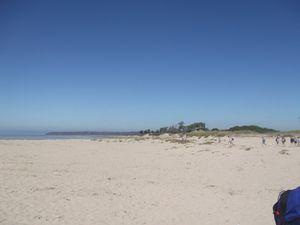 Nous laissons derrière nous les dunes de Genets