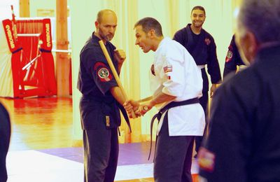 Le stage de kajukenbo close combat