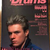 Magazine Rhythm&Drums -Larry Mullen-Janvier 1990 - U2 BLOG