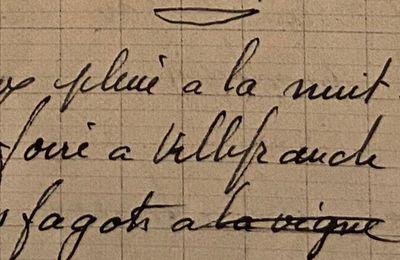 Vendredi 26 janvier 1951 - les fagots