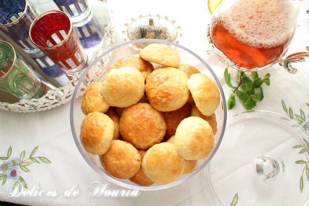 Cevizli Kurabiye - Biscuits aux noix